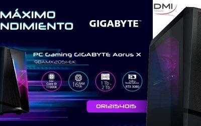 Máximo rendimiento con Gigabyte Aorus model X