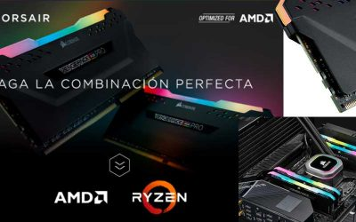 Corsair optimizado para AMD, la combinación perfecta