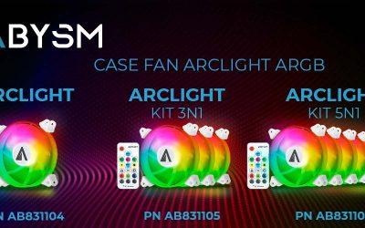 Nuevos ventiladores ARGB ARCLIGHT gaming de Abysm