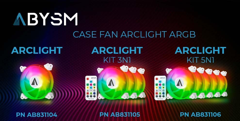 Abysm Case Fan ArcLight ARGB