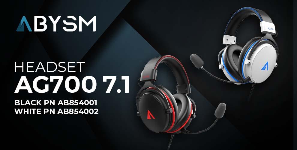 Abysm gaming nuevos auriculares