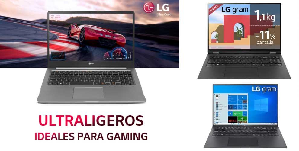 LG portatil gaming oferta