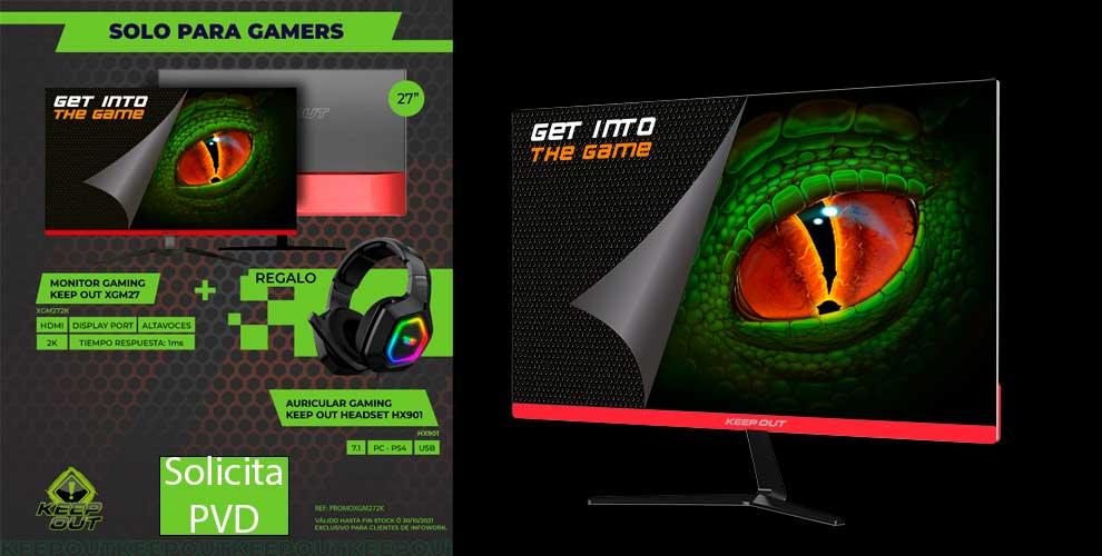 monitor gaming precio