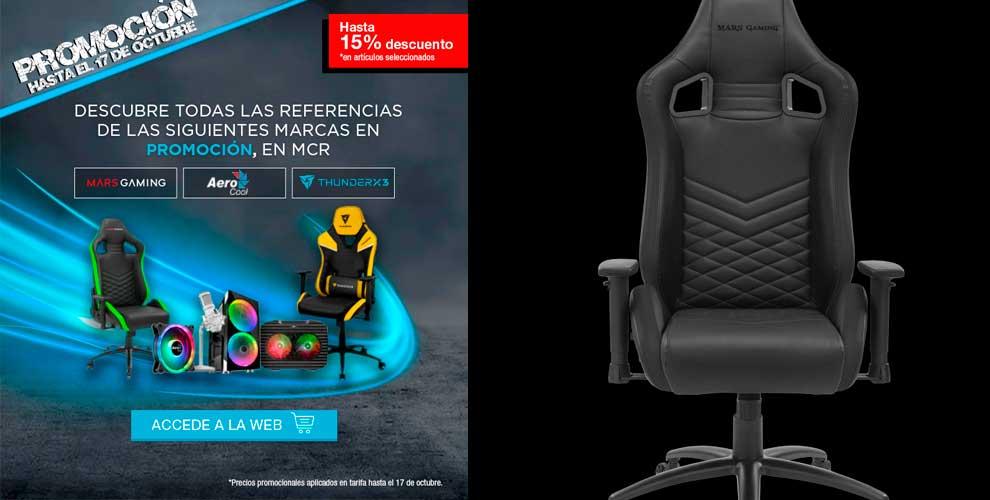 silla gaming mejor descuento