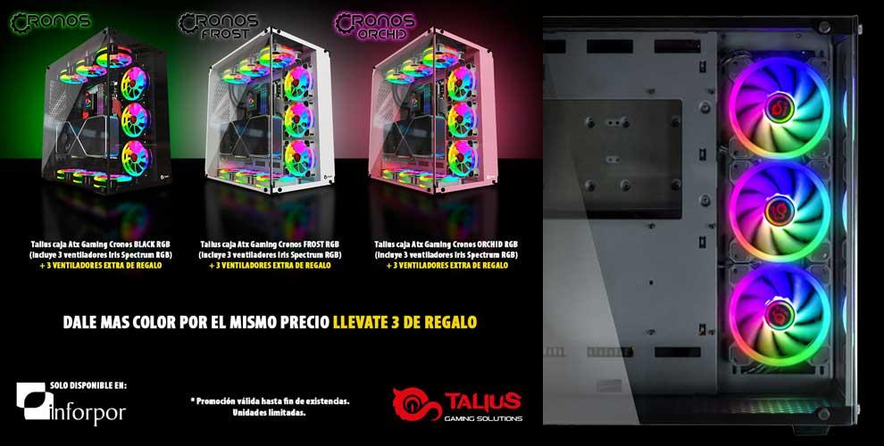 Con Talius te llevas tres ventiladores de regalo